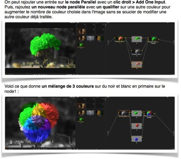 Chaque type de Node est expliqué avec des exemples de travail et de combinaison.