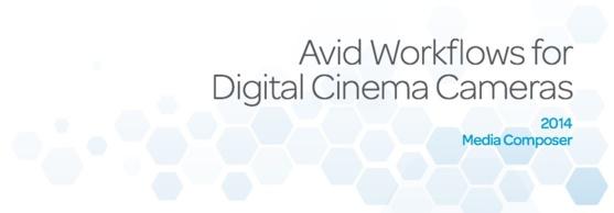 "Avid : White paper ""Workflows Digital Cinema Cameras"""