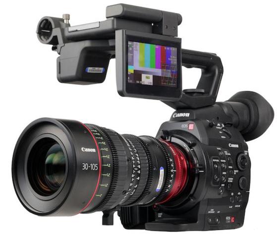 Caméra Canon peut enregistrer dans un format LOG spécifique à la marque.
