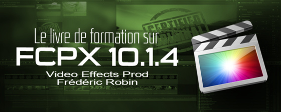Formation FCPX 10.1 en promotion