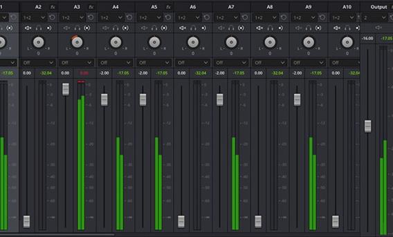 Possibilité d'exporter au format AAf pour un mixage sous Protools....!