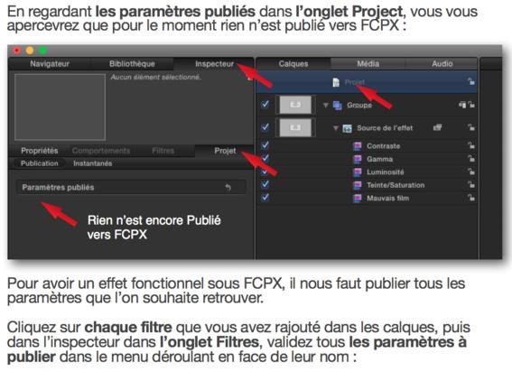 Découvrir Motion 5 et la fonction Publier pour FCPX