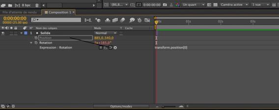 Utilisation du lasso sous After Effects CC.