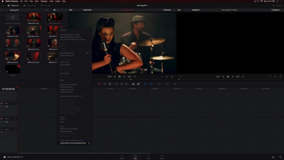 Le mode multi-cmarés du DaVinci Resolve 12.