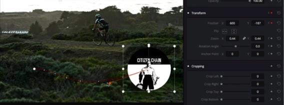 Programmer un effet directemnt dans le visualiseur avec les points de contrôle.