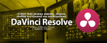 DaVinci Resolve 12 : Gérer le son stéréo, mono ou dolby surround (#video20)