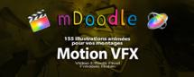 motionVFX : mDoodle 155 animations illustrées