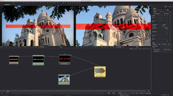 Exemple de compositing sous Fusion 8