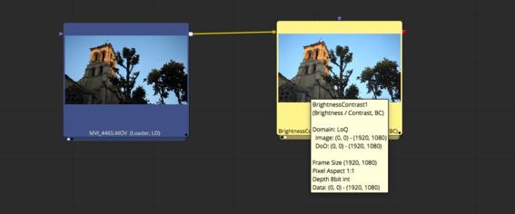 Ajouter un outil dans l'éditeur de node Flow.