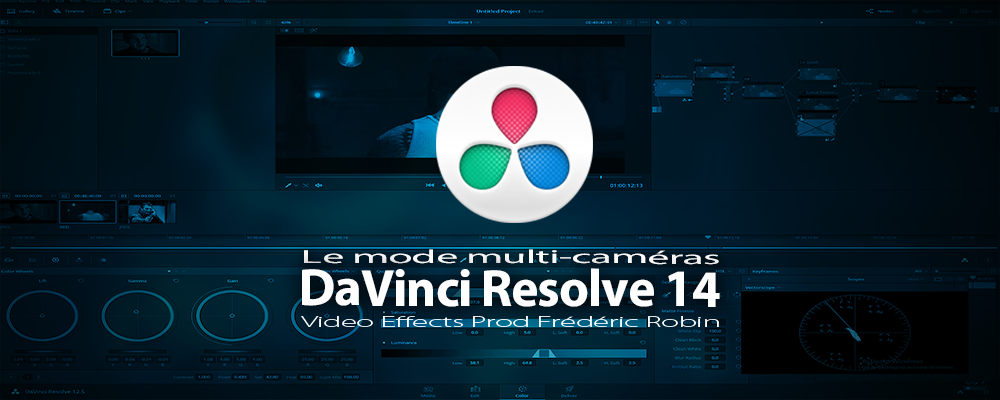 DaVinci Resolve 14 : Le mode multicaméras