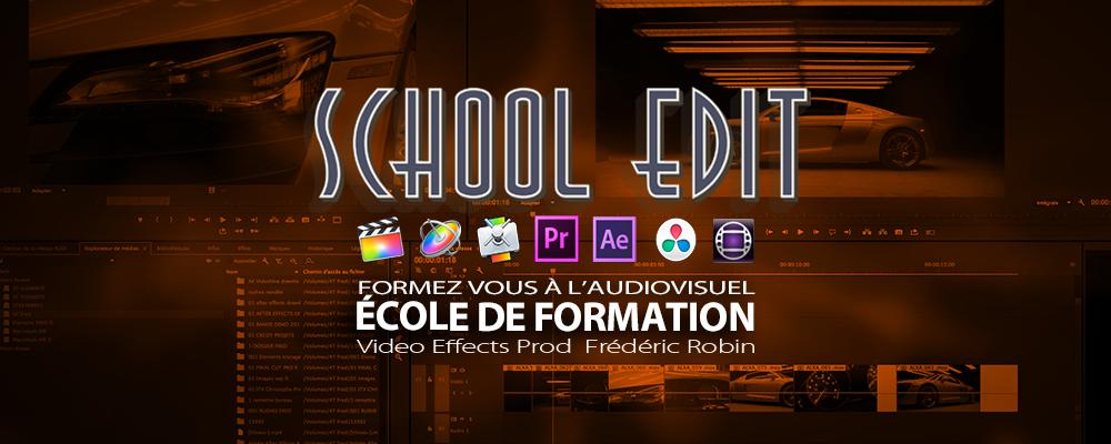 School Edit Apprendre l'audiovisuel en cours du soir