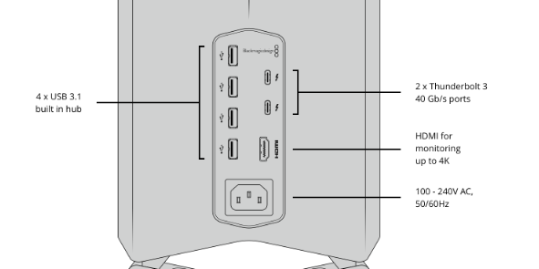 Blackmagic eGPU : une carte graphique externe pour DaVinci Resolve