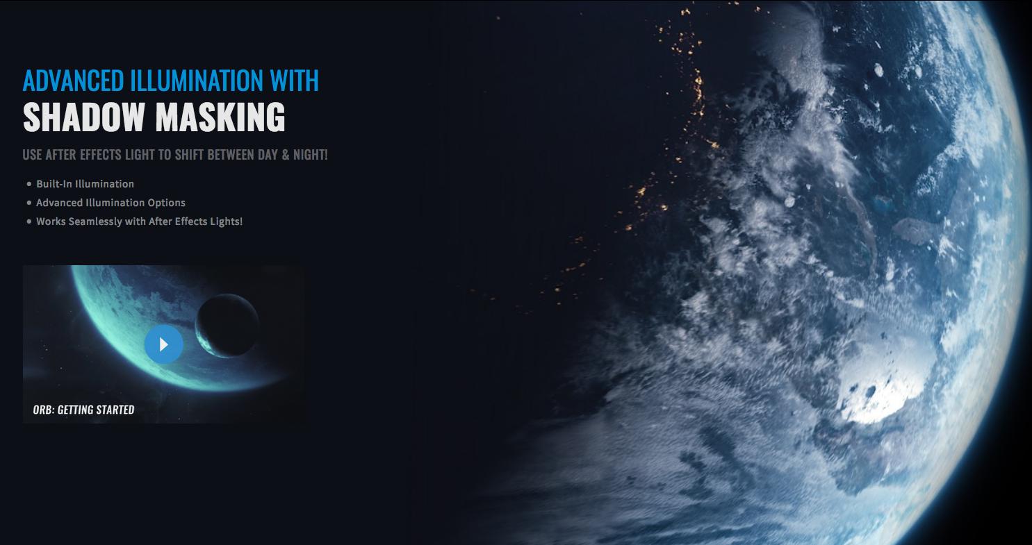 After Effects : Plugin gratuit pour créer des planètes 3D réalistes