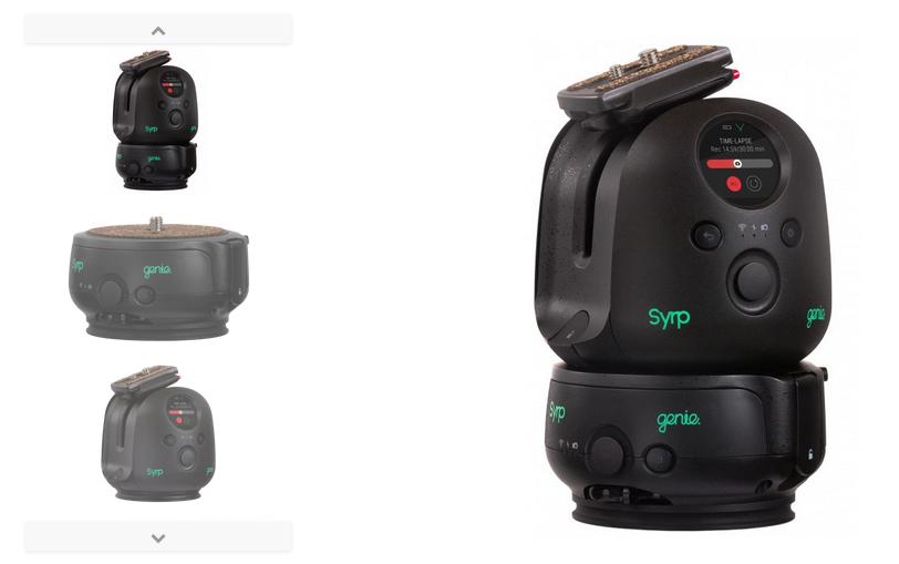 Syrp Genie II : nouvel outil de motion control