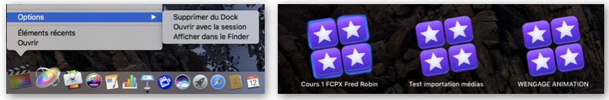 Autres options d'ouverture du logiciel