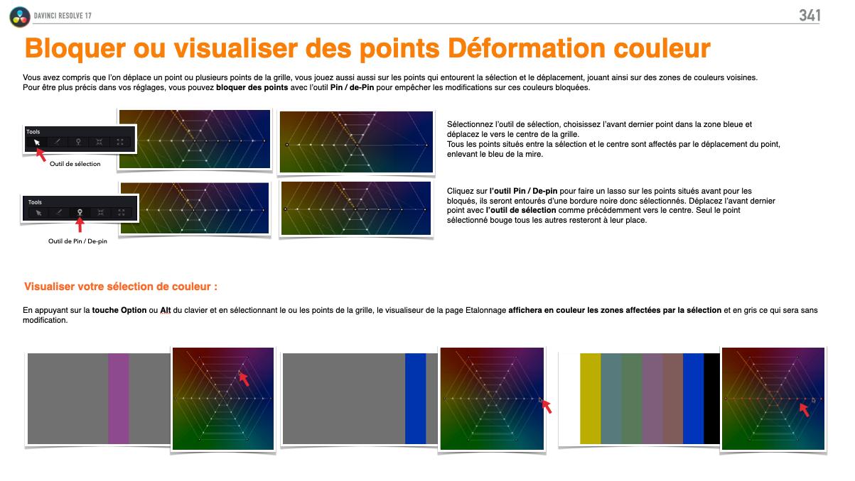 Utilisation du Color Wraper de DaVinci Resolve