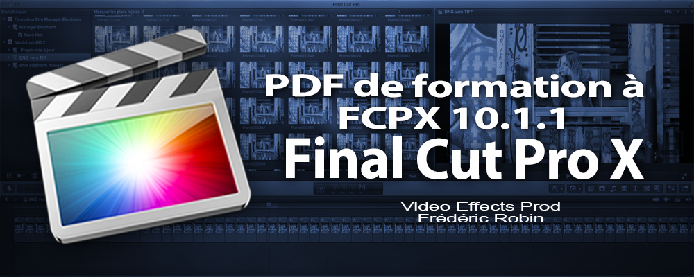 PDF de formation à FCPX 10.1.1