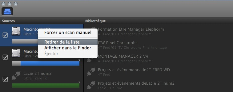 Final Cut Library Manager version 1.5