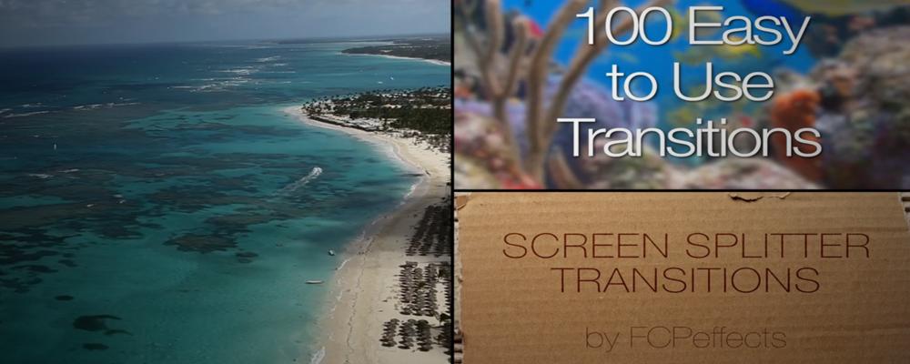 FCPEffects : Screen Splitter Transition