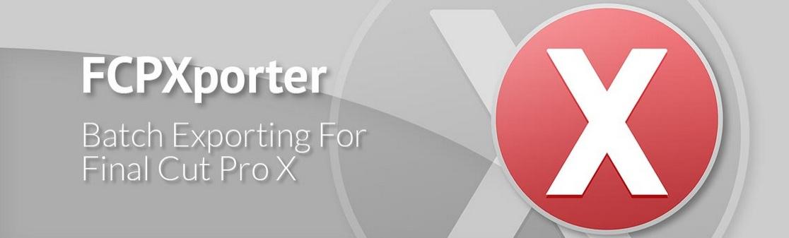 Réaliser une exportation par lot sous FCPX.