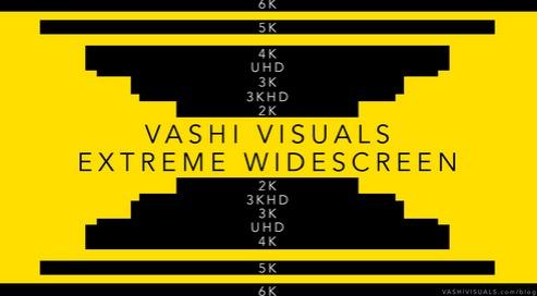 Vashi Visuals : extreme widescreen