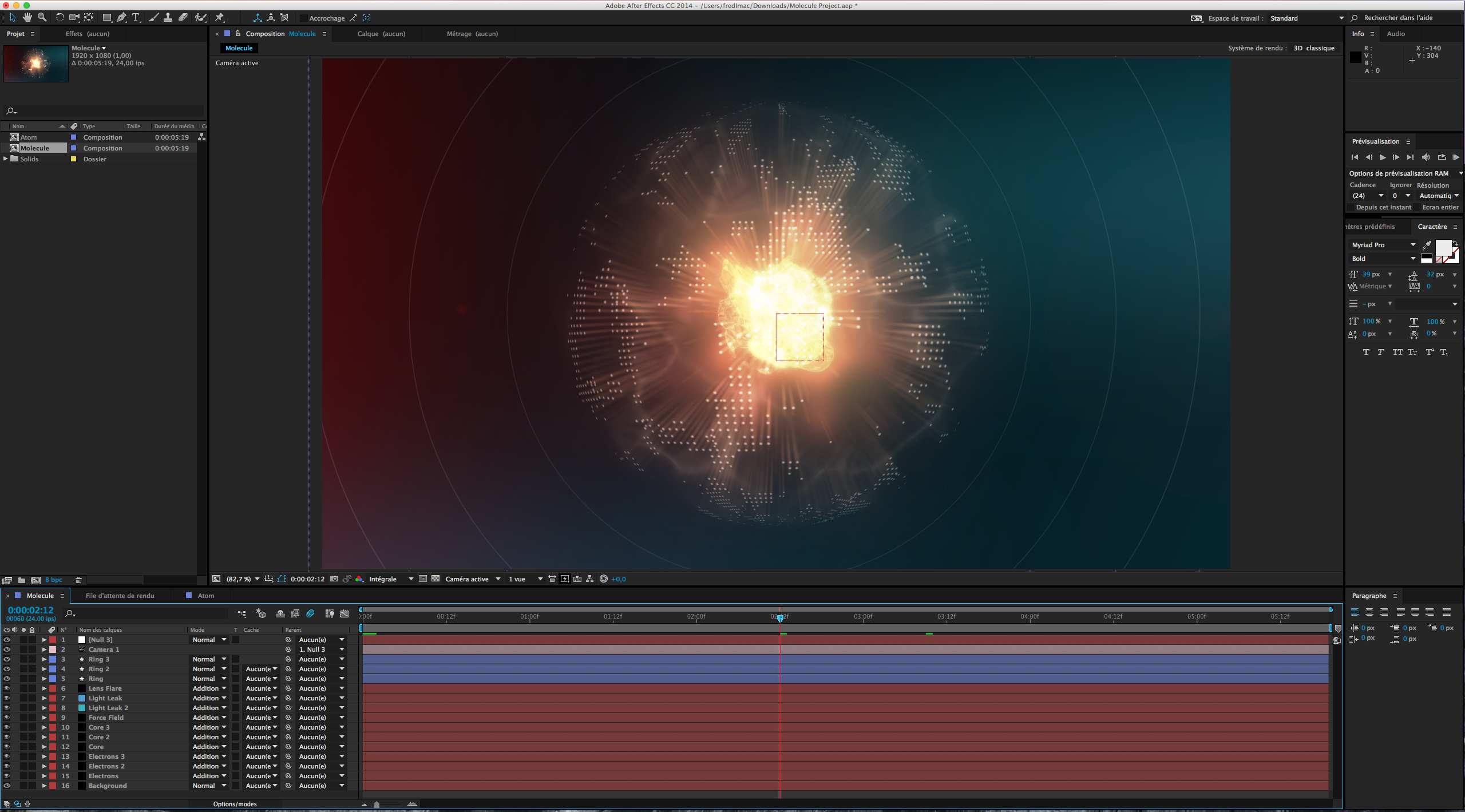 Version After Effects CC 2012