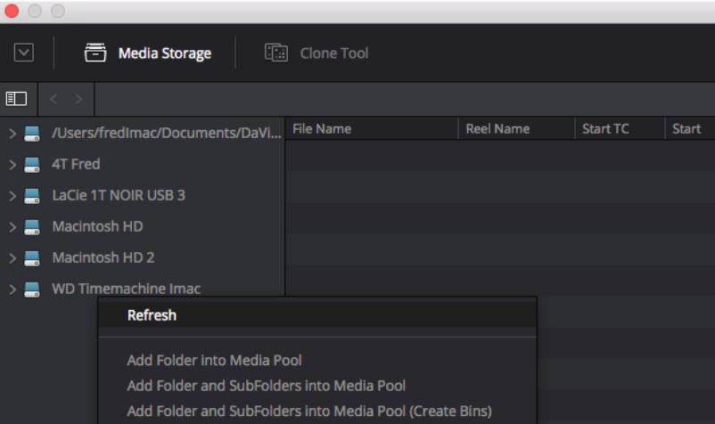 Rafraichir le scan d'un disque dur lors du rajout de fichier dans celui-ci.