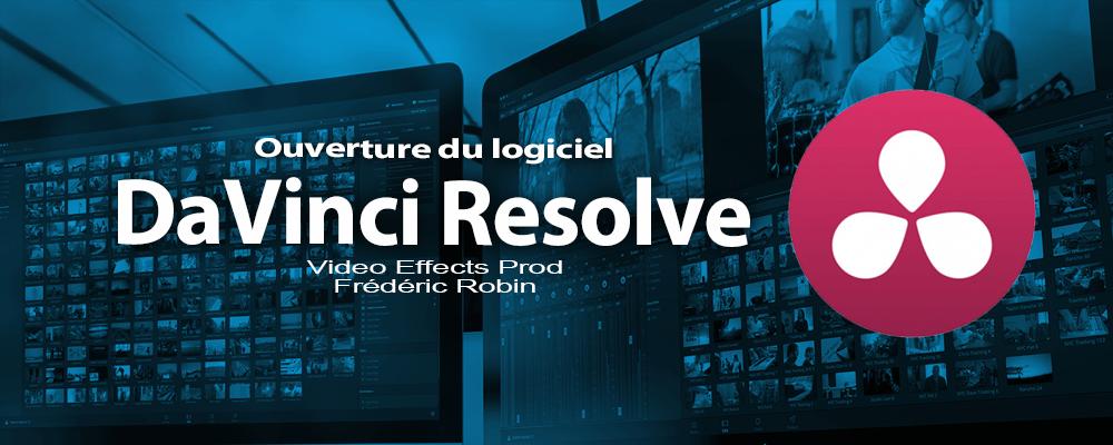 DaVinci Resolve 12 : Ouverture du logiciel (#video1)