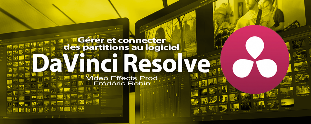 DaVinci Resolve 12 : Les partitions connectées (#video4)