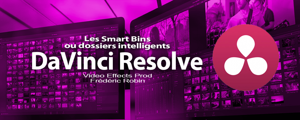 DaVinci Resolve 12 : Les Smart Bins (#video6)