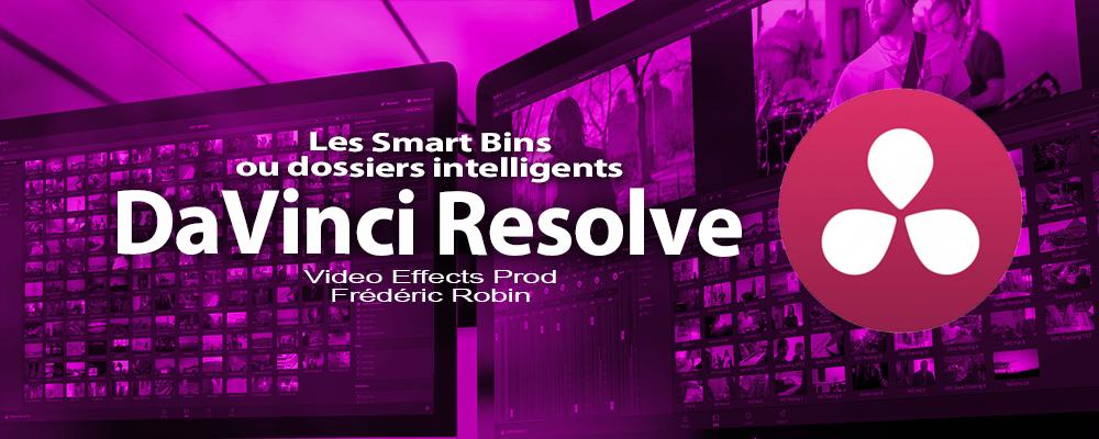 DaVinci Resolve 12 : Les Smart Bins (#video6)