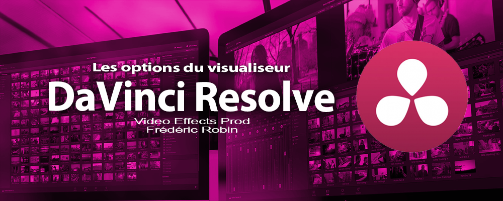 DaVinci Resolve 12 : Les options du visualiseur (video#8)