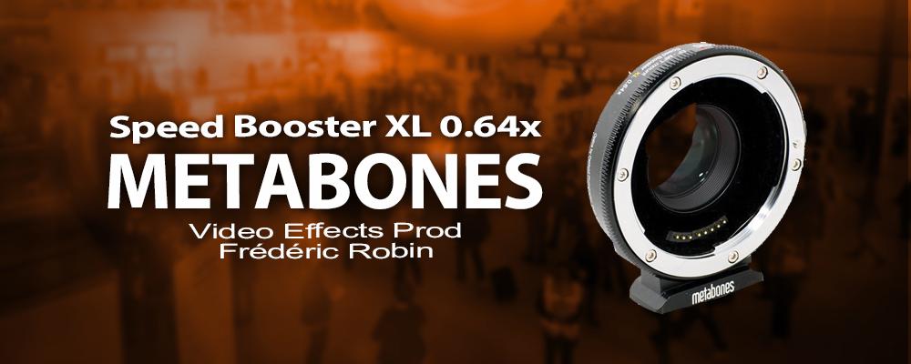 METABONES Speed Booster XL 0.64x Canon EF vers Micro 4/3