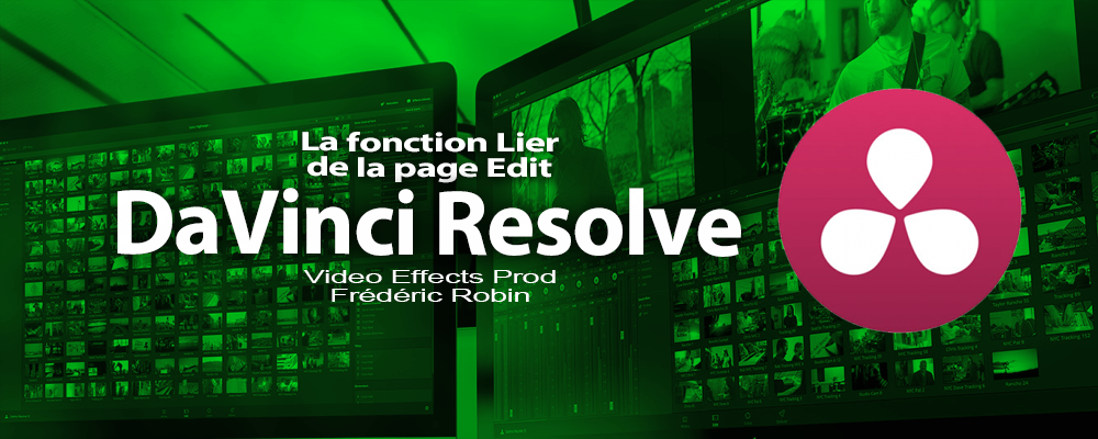 DaVinci Resolve 12 : Lier la vidéo et le son (video#18)