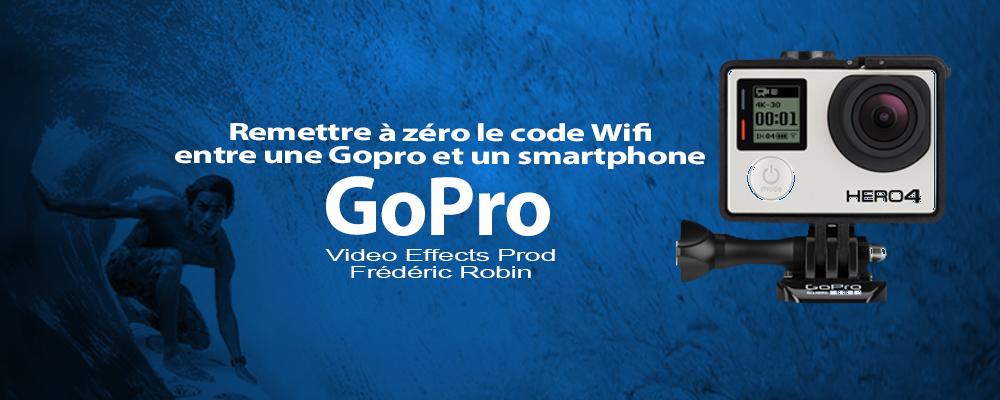 Changer votre mot de passe Wifi sur une GoPro en 2 minutes