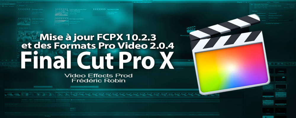 FCPX 10.2 : mise à jour en version 10.2.3