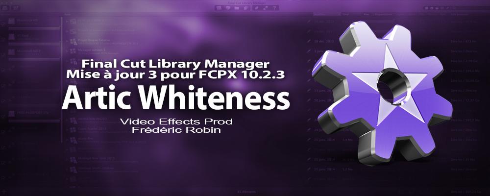 Final Cut Library Manager : mise à jour version 3