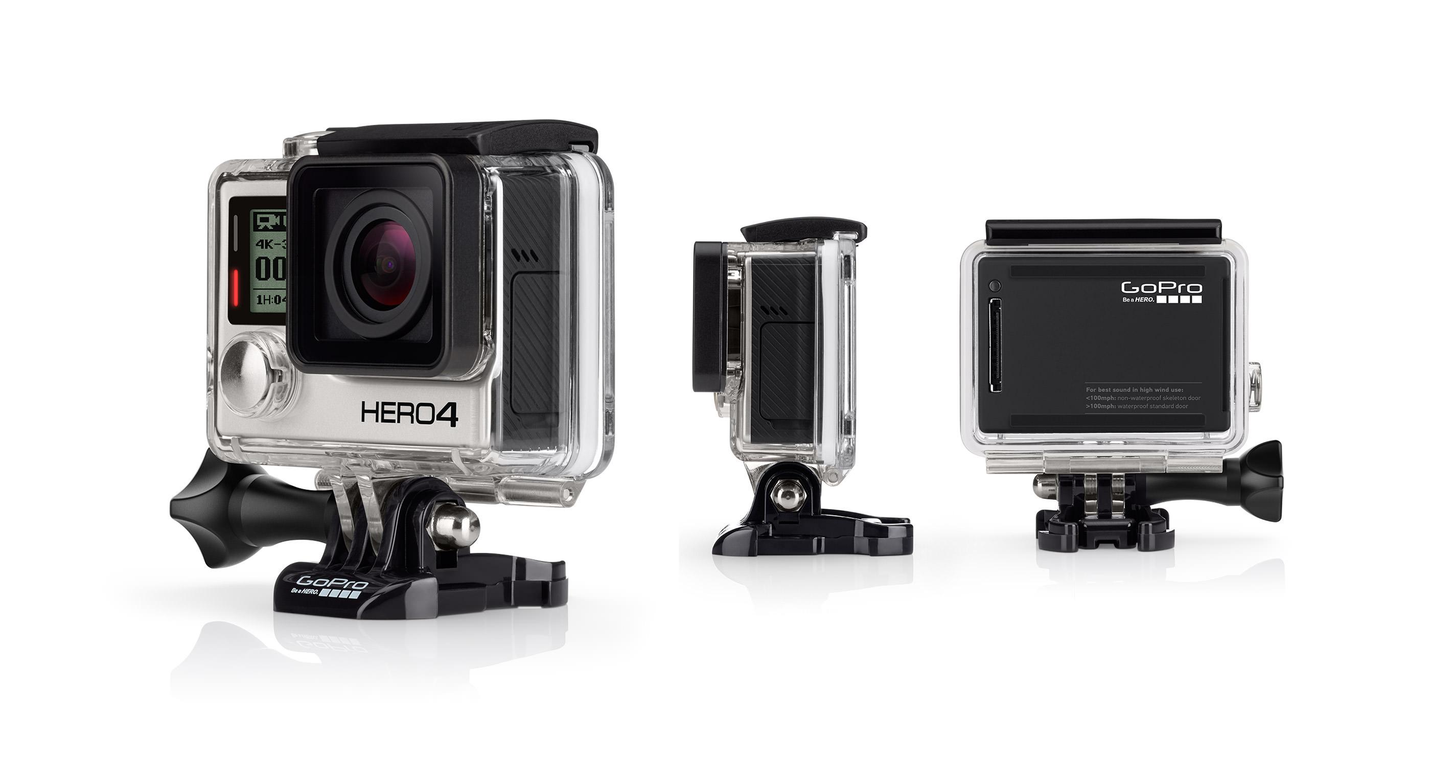 GoPro Hero 4 Black edition.