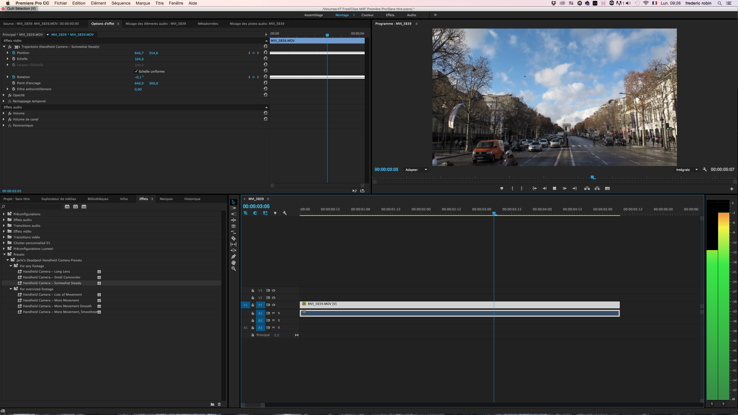 how to add presets to premiere pro