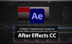 After Effects : Gérer une piste audio, utilisation de l'expression Loop
