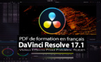 DaVinci Resolve 17 : PDF de formation en français