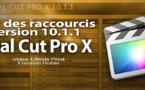 FCPX 10.1 : Pdf des raccourcis du logiciel