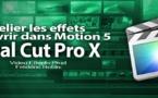 FCPX 10.1 : Relier un effet manquant (vidéo 43)
