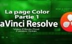 DaVinci Resolve 11.1 : La page Color (Partie 1)