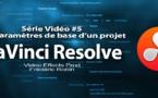 DaVinci Resolve 11 : Les Paramètres de projet de base #5