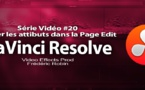 DaVinci Resolve 11 : Copier les attributs #20