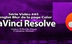 DaVinci Resolve 11 : Le panneau Blur #45