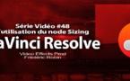 DaVinci Resolve 11 : L'utilisation du node Sizing pour corriger vos images #48