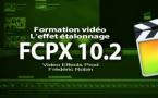 FCPX 10.2 : Nouvel effet d'étalonnage