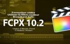 FCPX 10.2 : le filtre Broadcast Safe